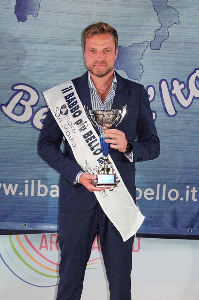 Gennaro Leonardi Babbo più Bello d'Italia Gold 2021