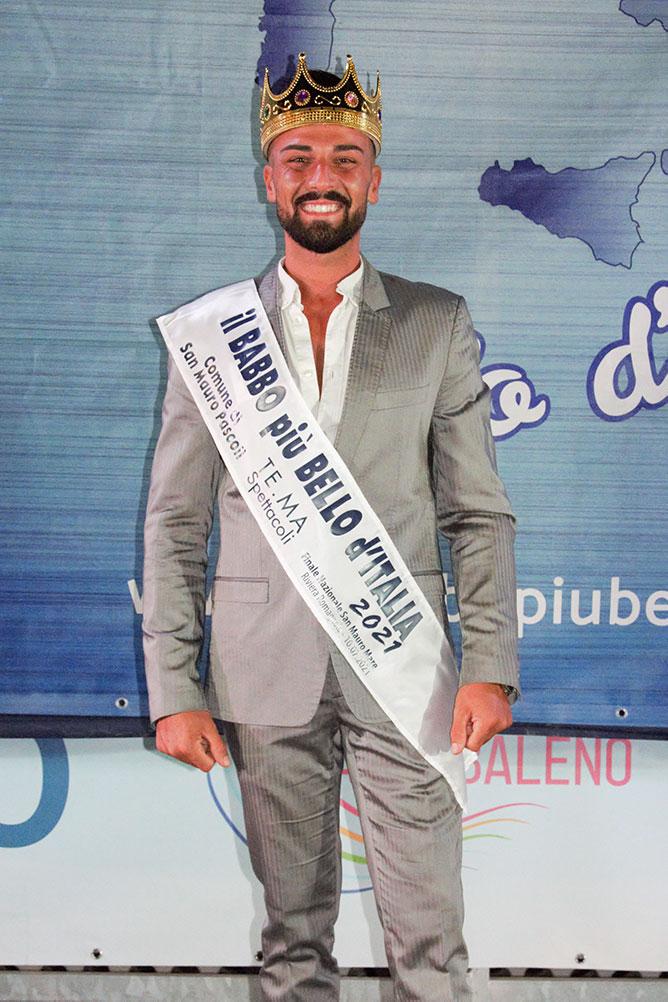 Mario La Boria Babbo più Bello d'Italia 2021